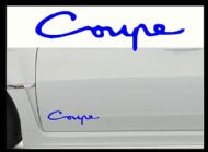 HYUNDAI COUPE CAR BODY DECALS